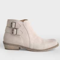 Bryden Suede Ankle Booties