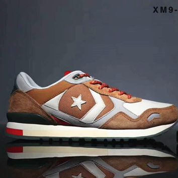 Converse Trending Sneakers Running Sports Shoes Brown B-SSRS-CJZX