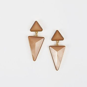 Women's Triangle Earring