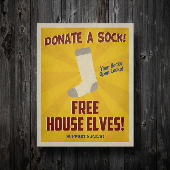Harry Potter Inspired Spew House Elves By From