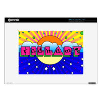 Cosmic Style Hillary Campaign Poster Netbook Decals