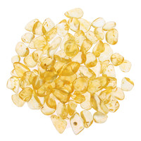 Citrine Stones Brazil Artificial Yellow Crystals for Reiki Healing Home/Planting Pot/Fish Tank Decor Craft 2.2 Pounds-  100g