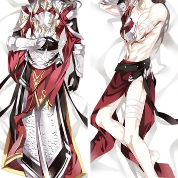 New Jian Wang Game Male Anime Dakimakura Japanese Hugging Body Pillow Cover MGF-59004
