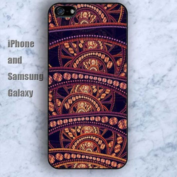 Indian style pattern iPhone 5/5S case Ipod Silicone plastic Phone cover Waterproof