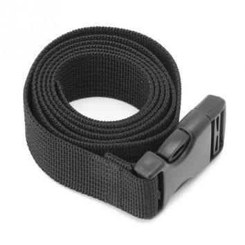 Outdoor Luggage Bag Mattress Long Black Lash Nylon Strap with Quick Release Buckle Tied Band Fixed Belt Tools