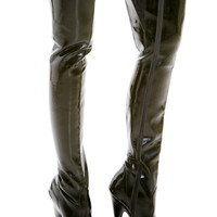 Vintage Pretty Woman Thigh High Boots - US 5.5