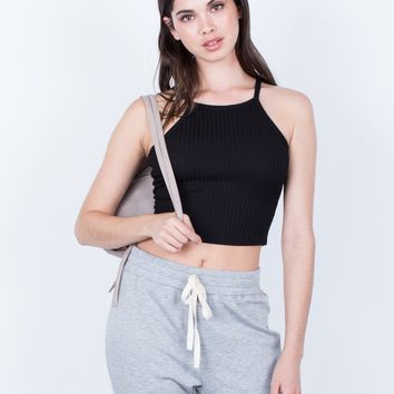 Soft Cami Crop Top