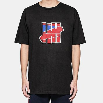 Undefeated Fashion Casual Print Shirt Top Tee