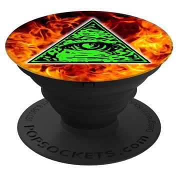Shane Dawson 260012  Illuminati Fire PopSockets Stand for Smartphones & Tablets