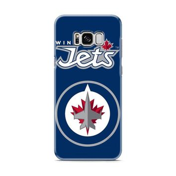 WINNIPEG JETS POSTER Samsung Galaxy S8 | Galaxy S8 Plus case