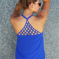 Off The Grid Tank {Royal}