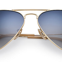 Ray-Ban RB3025 001/78 58-14 AVIATOR GRADIENT Gold sunglasses | Official Online Store US
