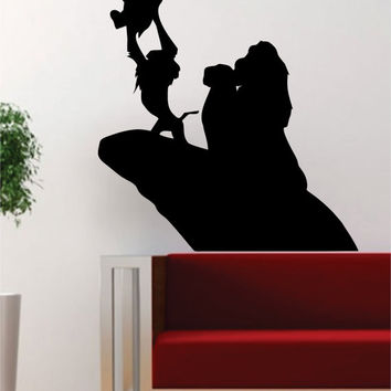 Lion King Simba Rafiki Silhouette Disney Design Decal Sticker Wall Vinyl Decor Art