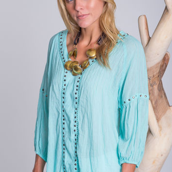 Sangria Shirt in Mist