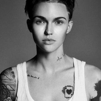 Ruby Rose Poster Standup 4inx6in