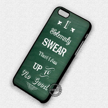 Solemnly Swear Good - iPhone 7 Plus 6 SE Cases & Covers