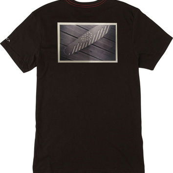 Wood Stripes T-Shirt | RVCA