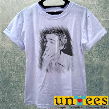 Low Price Women's Adult T-Shirt - Leonardo Dicaprio Smoking design