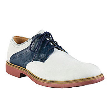 Cole Haan Men's Great Jones Saddle Oxfords - Alloy/White