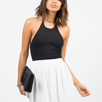 Chiffon Skater Skirt - Medium