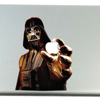 Mac Decals Darth Vader MacBook Pro Decal by MacBookDecalPro