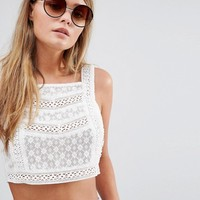 New Look Round Tort Detail Sunglasses at asos.com