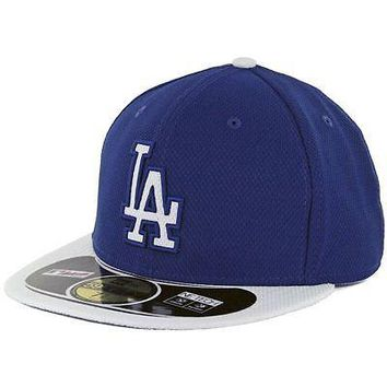 Los Angeles Dodgers Hat Fitted New Era Diamond Era LA 59Fifty Baseball Cap MLB