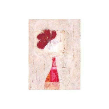 Red Poppy and Chinese Vase
