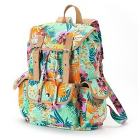 Candie's Tropical Cargo Backpack