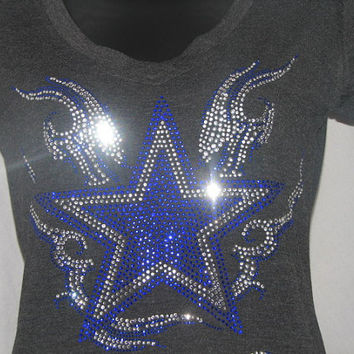 Dallas Cowboys Star with Flair T Shirt