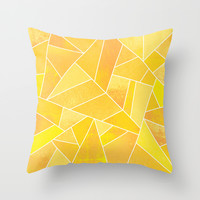 Sunshine Throw Pillow by Elisabeth Fredriksson