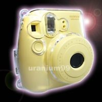 Fuji Fujifilm Instax Mini 8 Photo Camera Crystal Plastic Protect Case Clear
