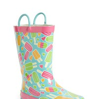 Toddler Girl's Western Chief 'Popsicle Toss' Rain Boot