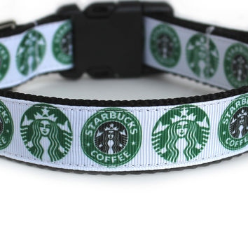 Starbucks Dog Collar for Small Dogs