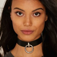 Without a Hitch Vegan Leather Choker