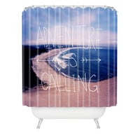 Leah Flores Adventure Is Calling Shower Curtain