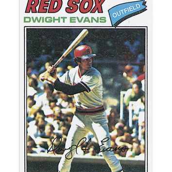 1977 Dwight Evans Archive Print #25-No Frame-10.5 x 14