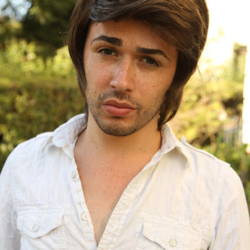 READY TO SHIP Flynn Rider Tangled Rapunzel Adult Men's Costume Wig - A True Enchantment Original