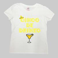 Cinco De Mayo Shirt Drinking T Shirt Margarita TShirt Vacation Gift Ideas For Her Brunch Mamacita Fiesta Cinco De Drinko Ladies Tee - SA1065