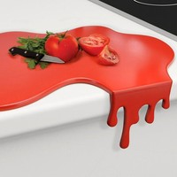 Ketchup Spill Cutting Board