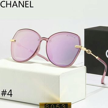 Chanel 2018 trendy women's holiday essential color film polarized sunglasses F-A-SDYJ #4