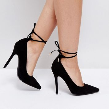 Boohoo Heeled Court Shoes at asos.com