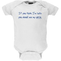 You Should See My Uncle Infant Bodysuit