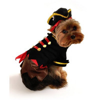Buccaneer Pirate Dog Costume - Small