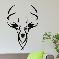 Wall Decal Vinyl Sticker Wild Animal Deer Reindeer Decor Sb428