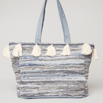 AMUSE SOCIETY - Permanent Vacation Tote | Indigo