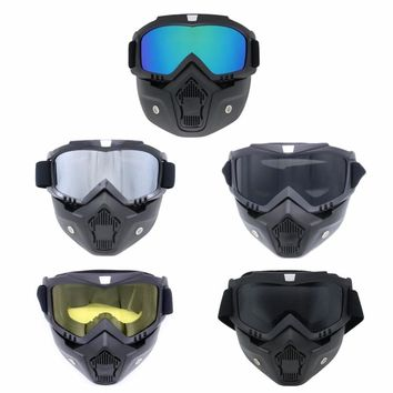 Completely Framed Mask Skiing Glasses and Cycling Glasses