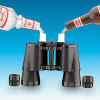 Double Sided Binocular  Flask  :: Looks Like a real Binoculars