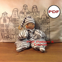 waldorf doll pattern tutorial making dolls cloth doll pattern soft pattern waldorf newborn first doll gift organic baby dolls teething doll