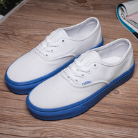 Trendsetter Vans Canvas Old Skool Flat Sneakers Sport Shoes